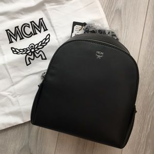MCM - Duchess Side-Stud Mini Backpack - Black